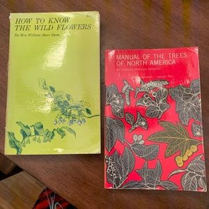 Two 1960s Vintage Plants about Plants & Trees